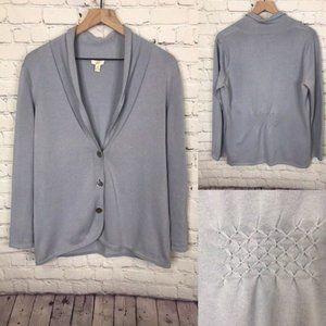 J Jill Button Sweater Cardigan size M